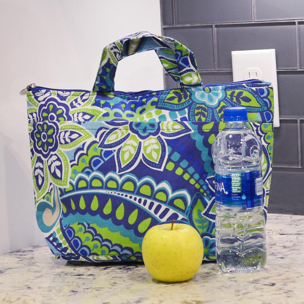 turqs and caicos lunch tote