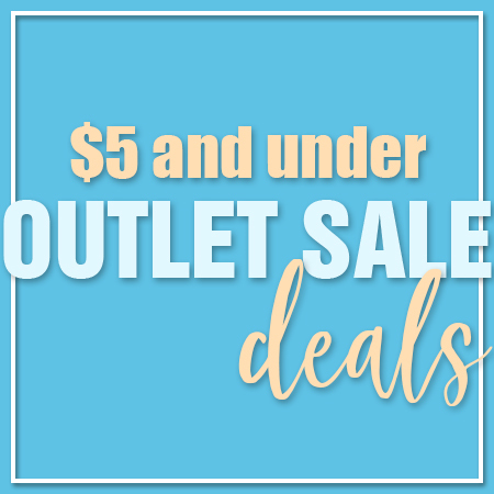 $5 and below outlet sale deals