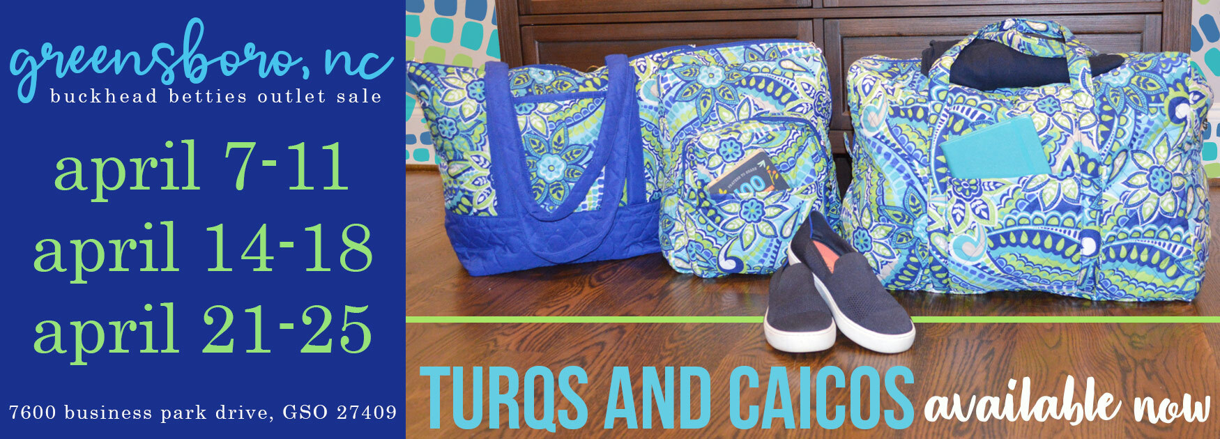 turqs and caicos available now!